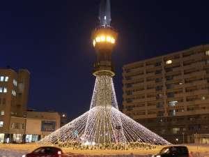 コートホテル旭川:ロータリータワーイルミネーション