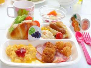 コートホテル旭川:朝食お子様ランチ