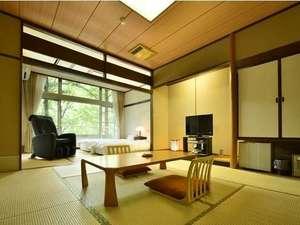 【和室10畳/1階】10畳+2ローベッド ※大浴場に一番近い部屋