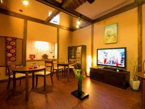 津和野のお宿 よしのや:【自遊空間 -THE 蔵-】 蔵を改造した空間は、コーヒーブレイクやバースタイル、自由にご使用可♪