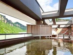層雲峡 朝陽亭:【天空露天 朝陽山】雄大な景色を見ながら露天風呂を堪能