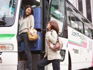 層雲峡 朝陽亭:札幌&旭川発着の便利な無料送迎バスは毎日運行