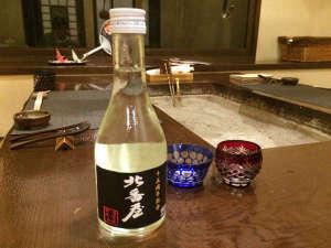 層雲峡 朝陽亭:オリジナルラベルの15周年記念日本酒「北番屋」