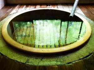 福住楼:天然温泉100%かけながし