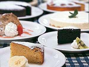 那須高原の貸し切り温泉 ペンション タム!(TAM!):ママ手作りのケーキは日替わりでお楽しみいただけます♪