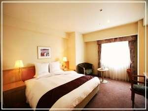 ホテルレイクアルスターアルザ泉大津:ファミリーやカップルに最適☆24㎡・180cm幅のキングベッドのダブルルーム♪