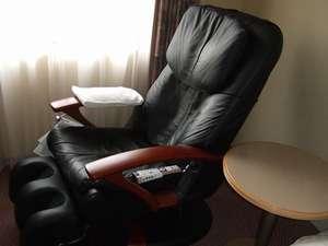 ホテルレイクアルスターアルザ泉大津:+\500でご利用頂けるマッサージチェアルーム!シングル3部屋のみのご提供でございます!