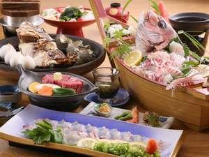 活魚料理旅館 若潮:企画コース☆淡路牛とおまかせ島サラダ付きコース