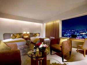 ロイヤルスイート(27階)寝室イメージ