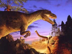 【いのちの旅博物館】JRで約15分-大きな吹き抜けの中にある恐竜の骨格標本は大迫力!