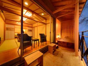 四季彩の宿 ふる里:【特別室】最高に贅沢な空間!