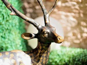 旭岳温泉 ホテルディアバレー:館内オブジェ~ようこそディアバレーへ~