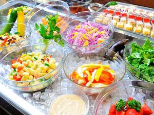 旭岳温泉 ホテルディアバレー:大雪山旭岳のふもとの地元野菜を中心とした野菜ビュッフェ