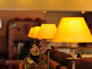 旭岳温泉 ホテルディアバレー:館内はライティングにもこだわっています