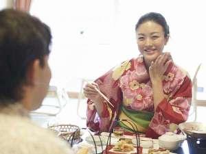 たまには夫婦水入らずでのんびりお食事はいかがでしょうか。