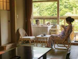 【露天風呂付き客室】特別なひとときをお過ごしください