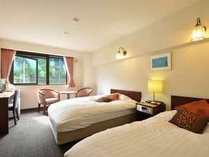 白馬 山のホテル:ツインルーム
