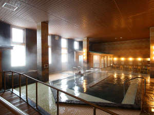 大江戸温泉物語 城崎温泉 きのさき:【大浴場】げんぶの湯