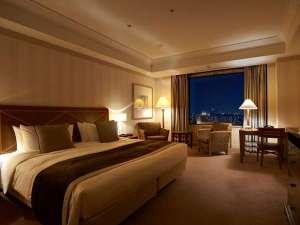 帝国ホテル大阪:スーペリア ダブル (40平米)ベッド幅200cm × 205cm × 1台【レギュラーフロア】