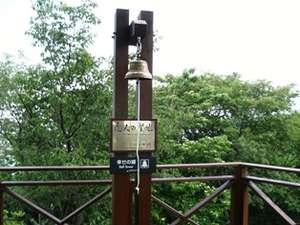 恋人の聖地に認定された富士見の鐘