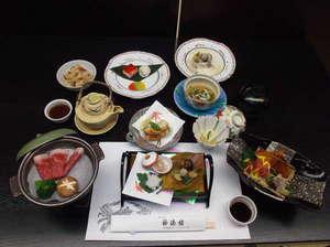 榊原温泉 神湯館:和牛陶板焼き会席