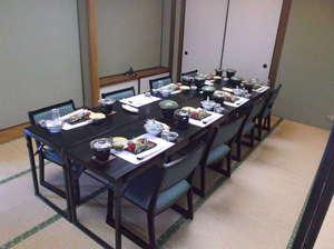 榊原温泉 神湯館:食事処