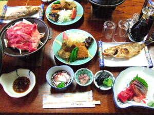 民宿 清水:夕食一例
