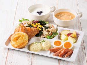 コンフォートホテル新山口:健康に配慮したコンフォートホテルのバランス朝食をぜひお召し上がりください。