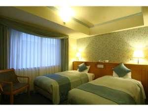 札幌クラッセホテル:エコノミーツインルーム(21㎡)