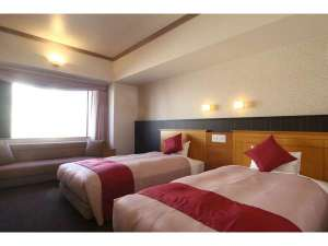 札幌クラッセホテル:デラックスツイン<A>タイプ(32㎡)