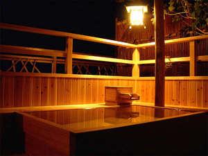 熱海の癒(ゆ) 新かどや:*海悠亭/月見台に桧の露天風呂付