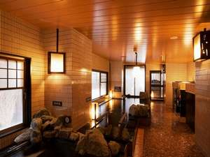 天然温泉白樺の湯 ドーミーイン帯広:【大浴場内湯】美肌効果抜群のモール泉です。