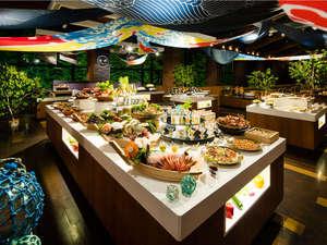 【ビュッフェダイニングhal】北海道ならではの旬の海鮮ならこのレストラン *予約可
