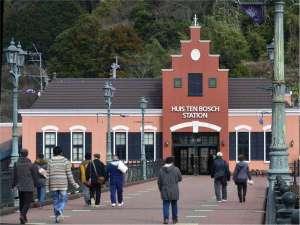 JRハウステンボス駅もハウステンボスへの入り口