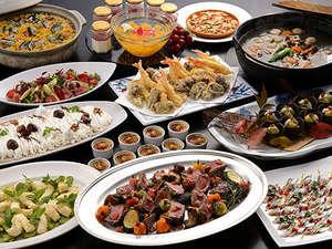 ウォーターマークホテル長崎ハウステンボス:【秋夕食】秋が旬の食材たっぷり!素材の旨みを引き出した色合いも美しい秋薫るディナービュッフェ