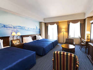 ウォーターマークホテル長崎ハウステンボス:【デラックスハーバービュールーム】穏やかな大村湾を一望できます。癒しのひとときをあなたへ。
