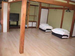 富士園:大部屋20名宿泊可能