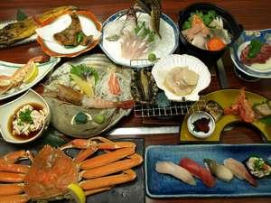漁師の宿富丸 :夕食の一例
