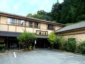 奥山鹿温泉旅館:【当館外観】皆さまのお越しをお待ちしております。