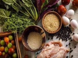 きたゆざわ 森のソラニワ(旧 湯元第二名水亭):「タンパク質、糖質、脂質、ビタミン、ミネラルの5大栄養素を賢くとって大正解!」