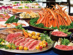 富士山を一望できる宿 ホテルグリーンプラザ箱根:【2017/9/30迄】ズワイ蟹やローストビーフも食べ放題のプレミアムビュッフェ