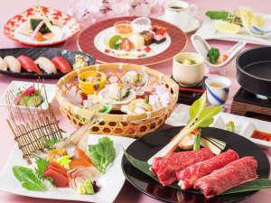 富士山を一望できる宿 ホテルグリーンプラザ箱根:料理長特選会席イメージ