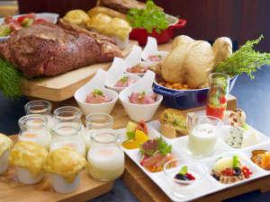 ホテル・ラ・レゾン大阪:80種類の朝食ブッフェ