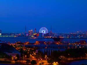 ホテル・ラ・レゾン大阪:遠くに天保山の大観覧車が見えます。