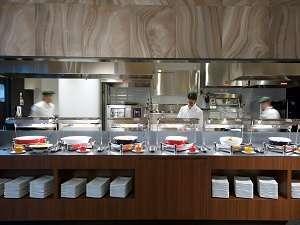 ホテル・ラ・レゾン大阪:オープンキッチン