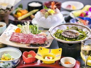 つなぎ温泉 ホテル紫苑:【ご夕食お部屋食】