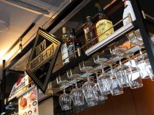 アパホテル<大阪肥後橋駅前>:1階 Asahi Beer Front