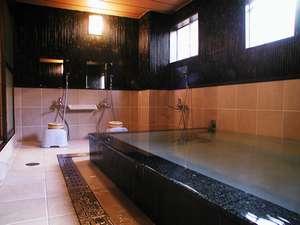 明石家旅館別館:リニューアルした男子浴場