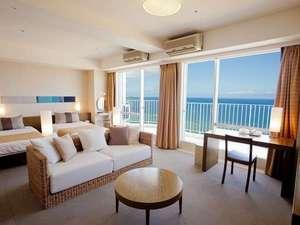 ザ・ビーチタワー沖縄:リゾート感あふれる客室はクチコミも高評価!※イメージ画像