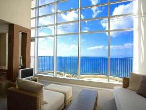 最上階のスカイスイートルームは空と海が一望※イメージ画像